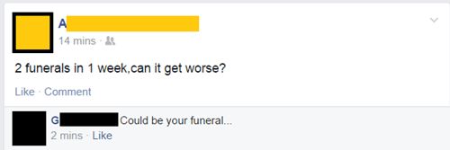 ouch funeral morbid - 8308772608
