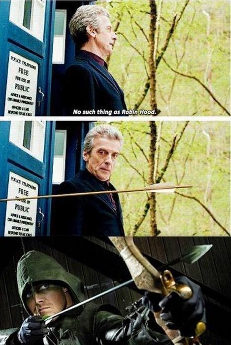 12th Doctor green arrow - 8308839680