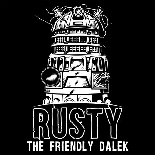 tshirts daleks for sale rusty - 8308853504