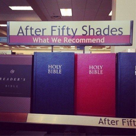 fifty shades of grey,holy bible