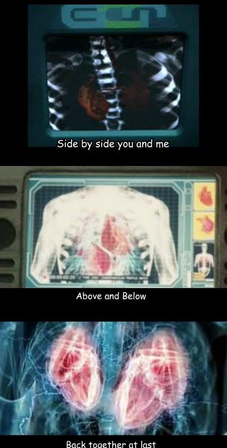 The Two Hearts Shuffle
