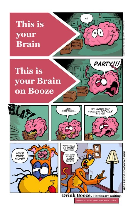 drinking brains Cats web comics - 8309110272