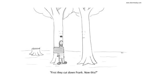 trees sad but true web comics - 8309121536