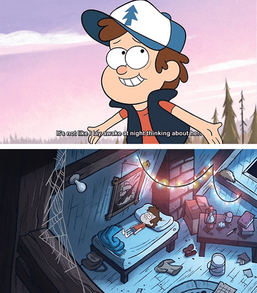disney gravity falls cartoons crush - 8309138176