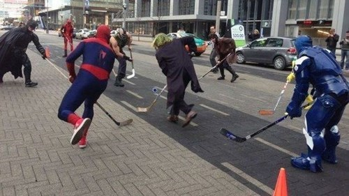 cosplay,sports,hockey