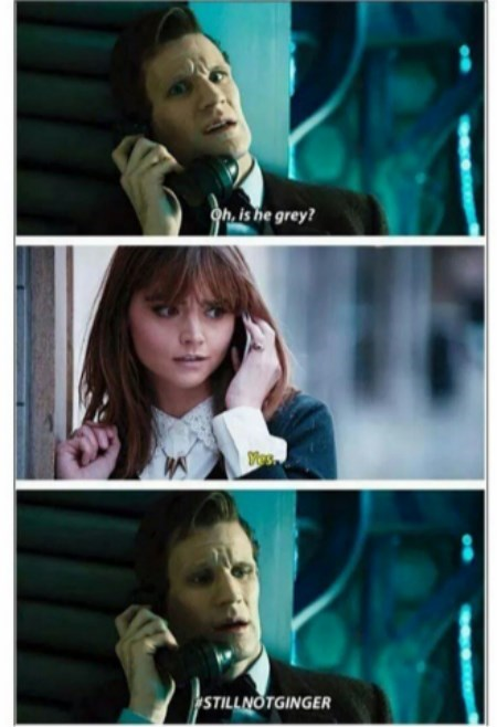 ginger clara oswin oswald 12th Doctor 11th Doctor - 8310224640