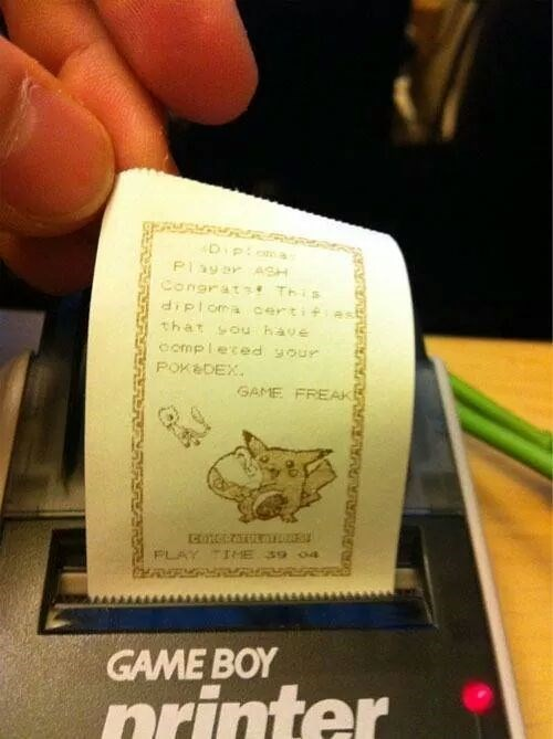Pokémon game boy printer - 8310272768