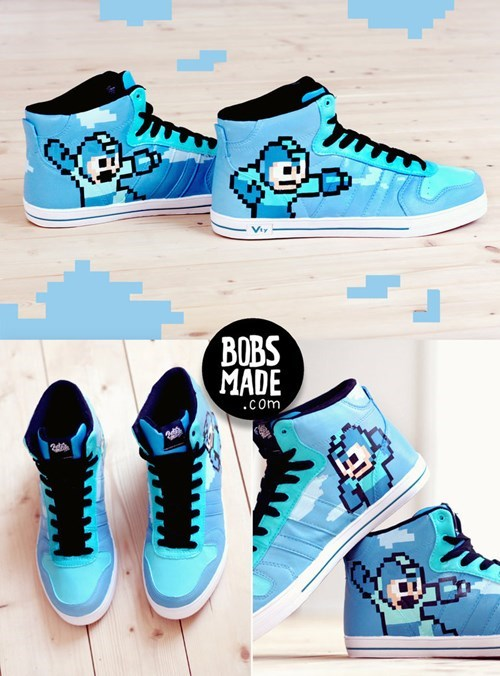 shoes IRL awesome mega man