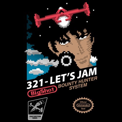 tshirts,NES,for sale,cowboy bebop