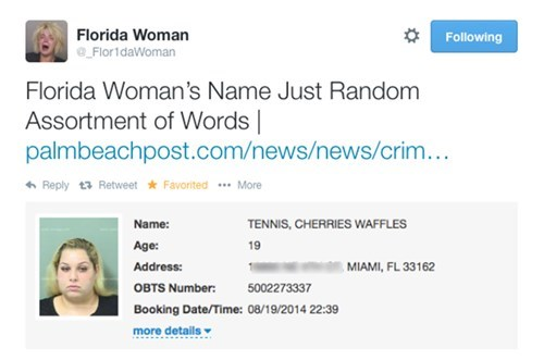 twitter what florida Probably bad News name - 8310449152
