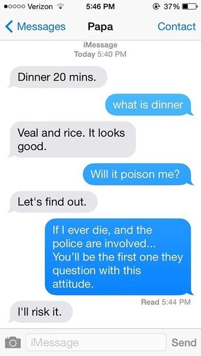 parenting dad food texting failbook g rated - 8310462208