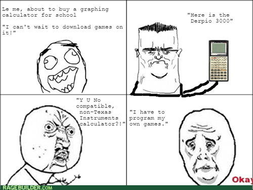 back to school calculator graphing calculator Okay math Y U NO - 8310493952