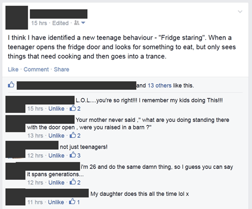 fridge,kids these days,parenting,g rated,teenagers failbook