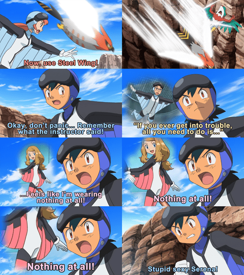 ash This Is Hilarious sky battle stupid sexy serena - 8310776576