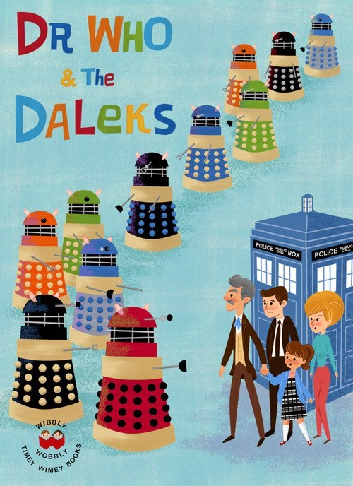 childrens-books daleks classic who - 8311011584