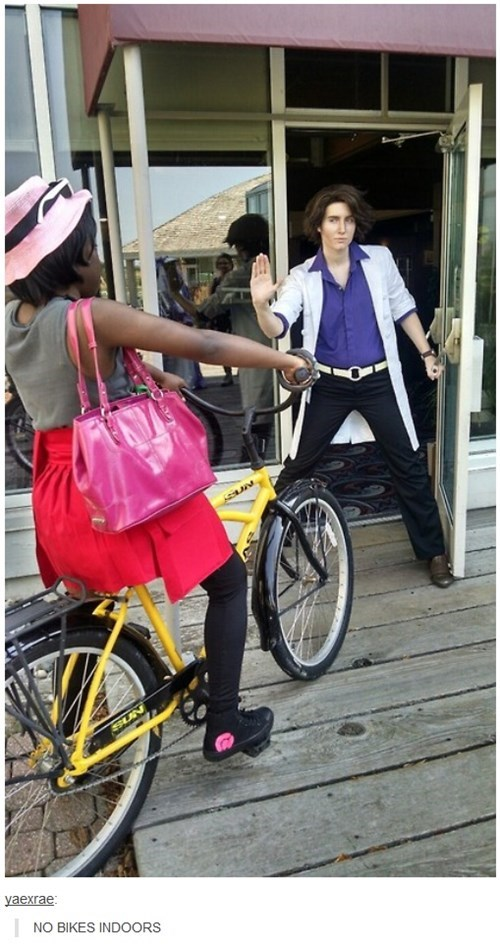 cosplay,bikes,IRL,professor oak