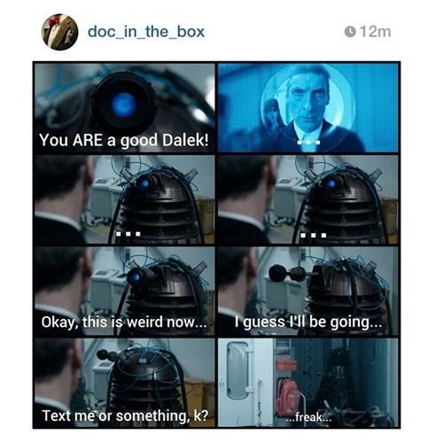 12th Doctor daleks rusty - 8311446528