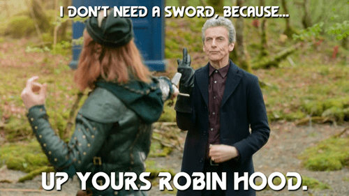 12th Doctor robin hood - 8312052992
