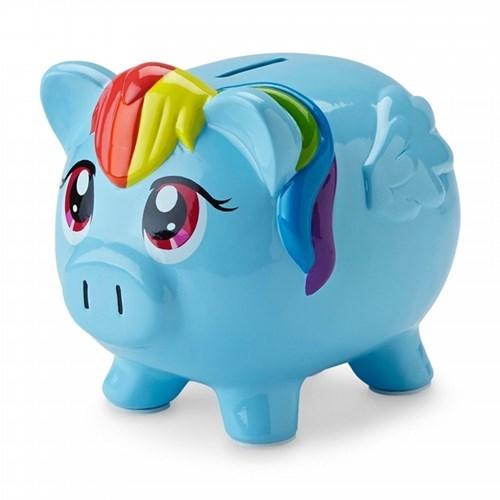 puns piggy bank rainbow dash - 8312361728