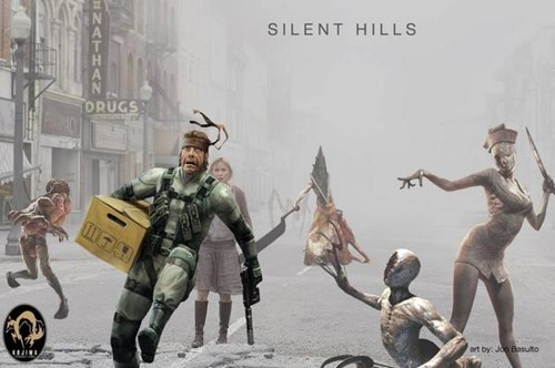 snake,video games,silent hill