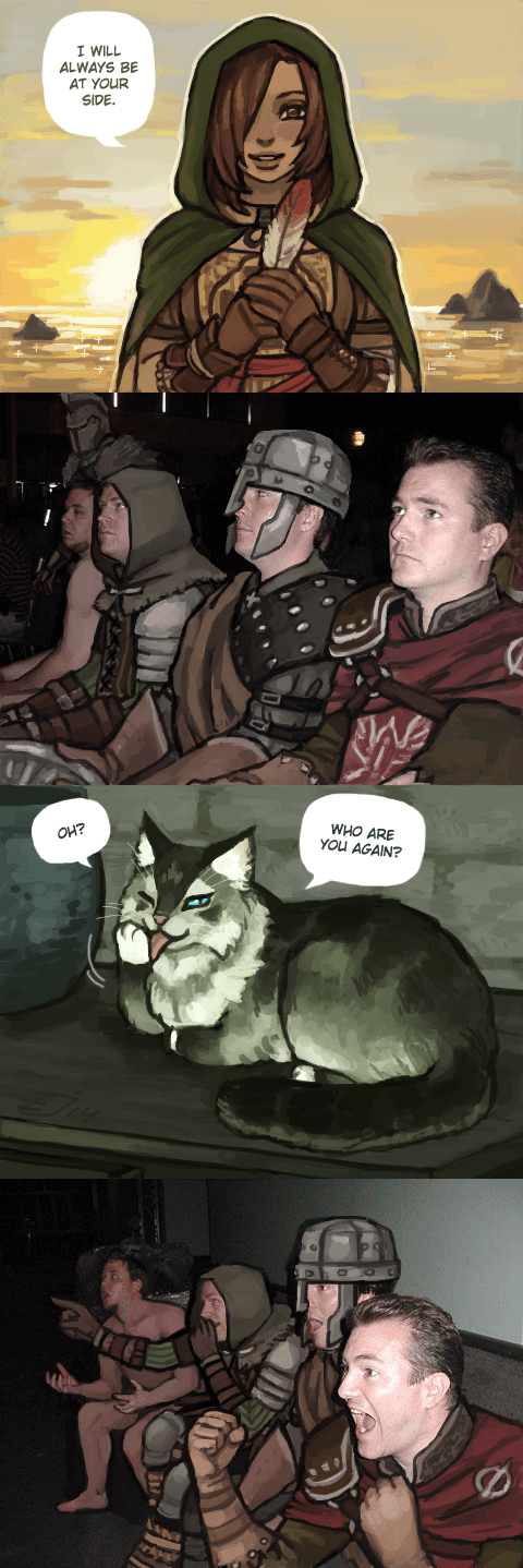 dark souls reaction guys talking cats - 8312452608