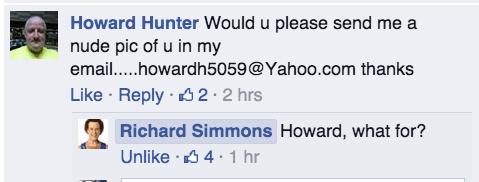 facebook richard simmons - 8312566528