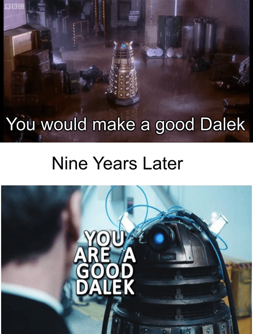 the doctor daleks 12th Doctor - 8312590848
