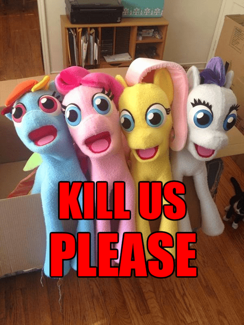 Plushie creepy MLP - 8312784128