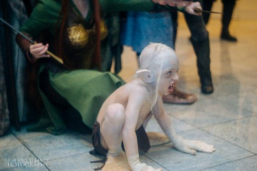 cosplay kids gollum
