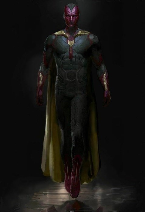age of ultron The Avengers the vision concept art