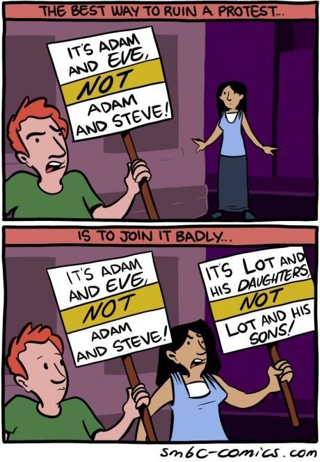 sick truth bible protests web comics