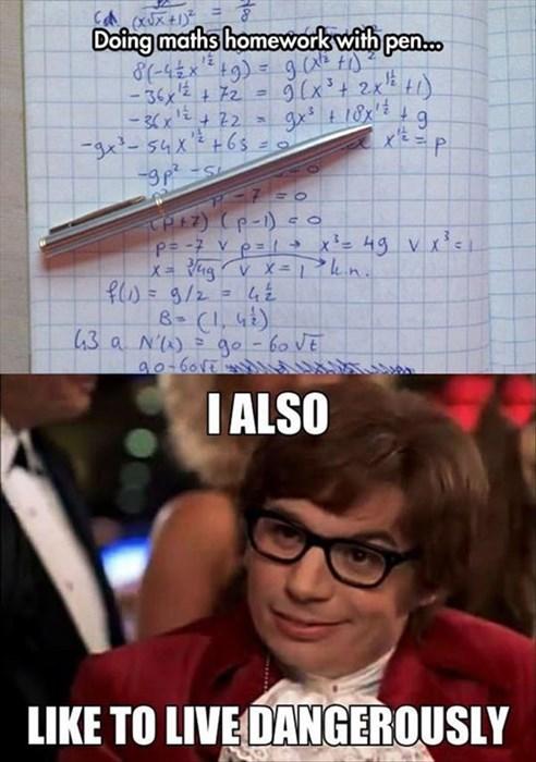 homework school pen math - 8312895488