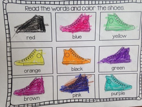 school instructions coloring
