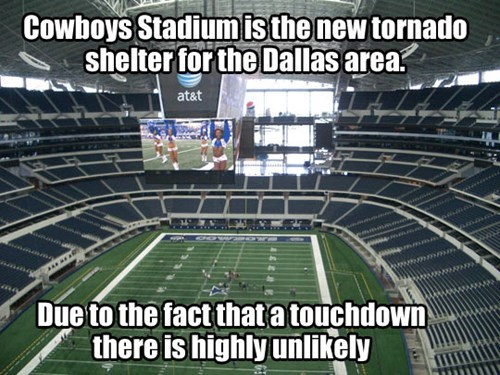 tornado nfl dallas cowboys football - 8312988928