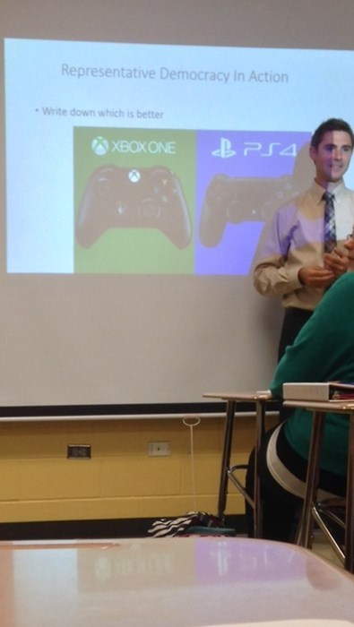 school,gaming,PlayStation 4,xbox one