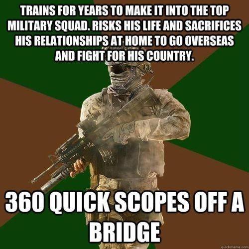 call of duty shoulda been a no scope video game logic - 8313032960