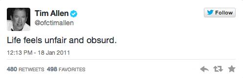 twitter,tim allen,spelling