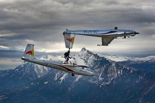stunt BAMF airplane