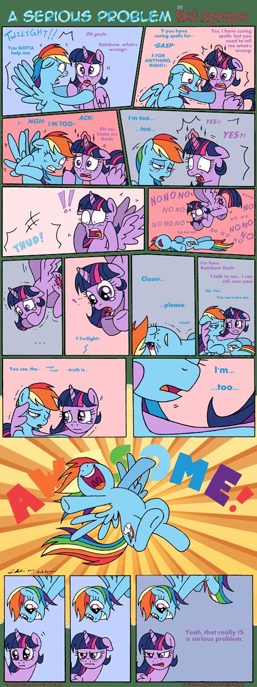 twilight sparkle rainbow dash web comics - 8313334272