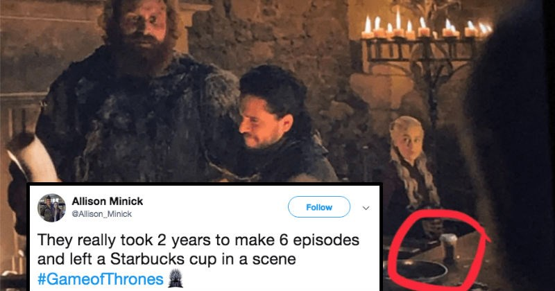 FAIL Game of Thrones Starbucks TV ridiculous funny television - 8313349