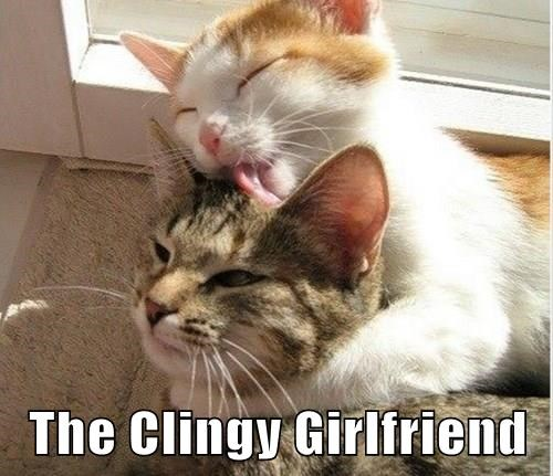 the clingy girlfriend