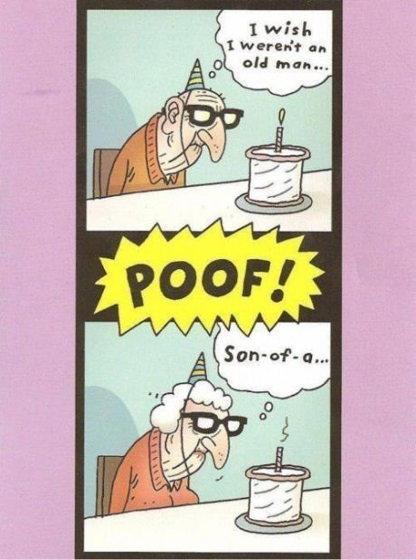 birthday wishes old people web comics - 8313726976