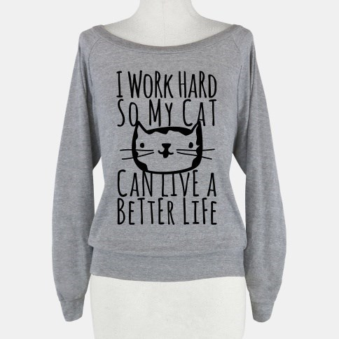 poorly dressed sweatshirt Cats g rated - 8313729536