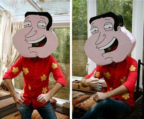 costume family guy poorly dressed giggity quagmire - 8313738752