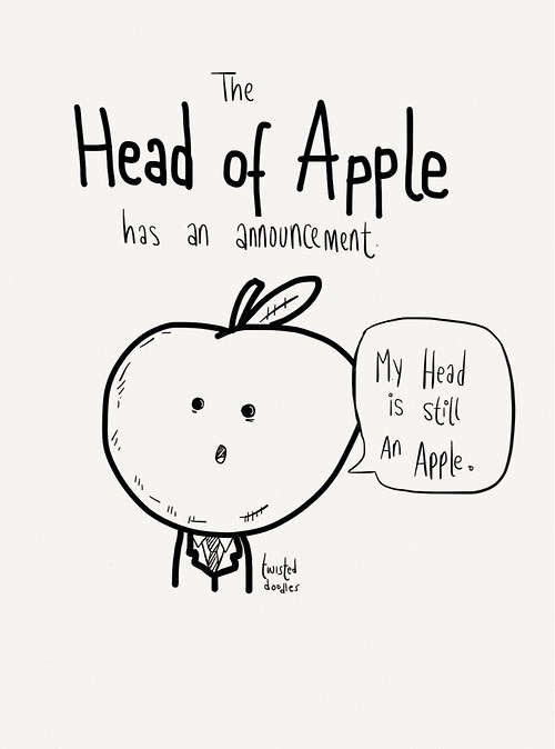 sick truth apples apple web comics iphone - 8313773568