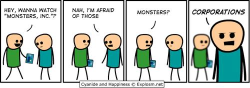 corporations monsters inc sad but true web comics - 8313800704