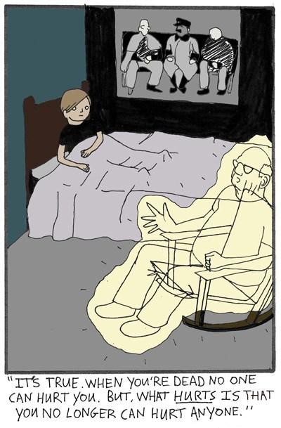 life Death ghosts web comics - 8313905408