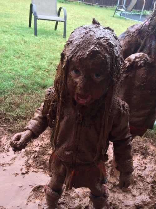 kids mud parenting mess - 8314031360