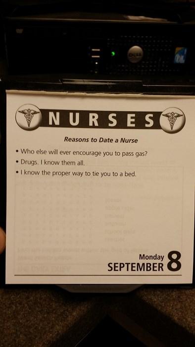 patient dating a nurse