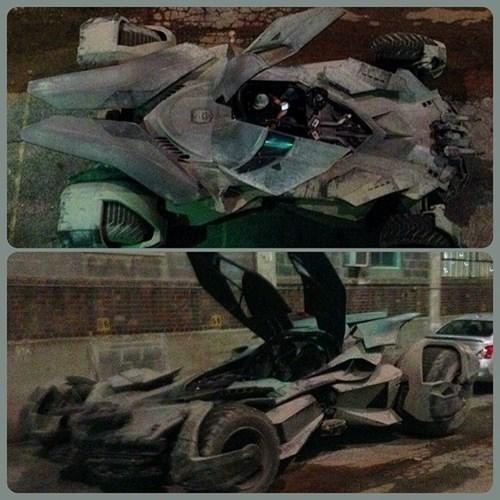 behind the scenes batmobile batfleck movies Batman v Superman - 8314699520